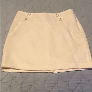 The Limited - Cream Skirt